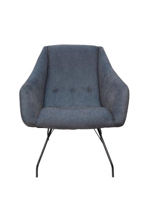 Mid-Century Modern Pair of Martin Eisler & Carlo Hauner 'Concha' Armchairs For Sale