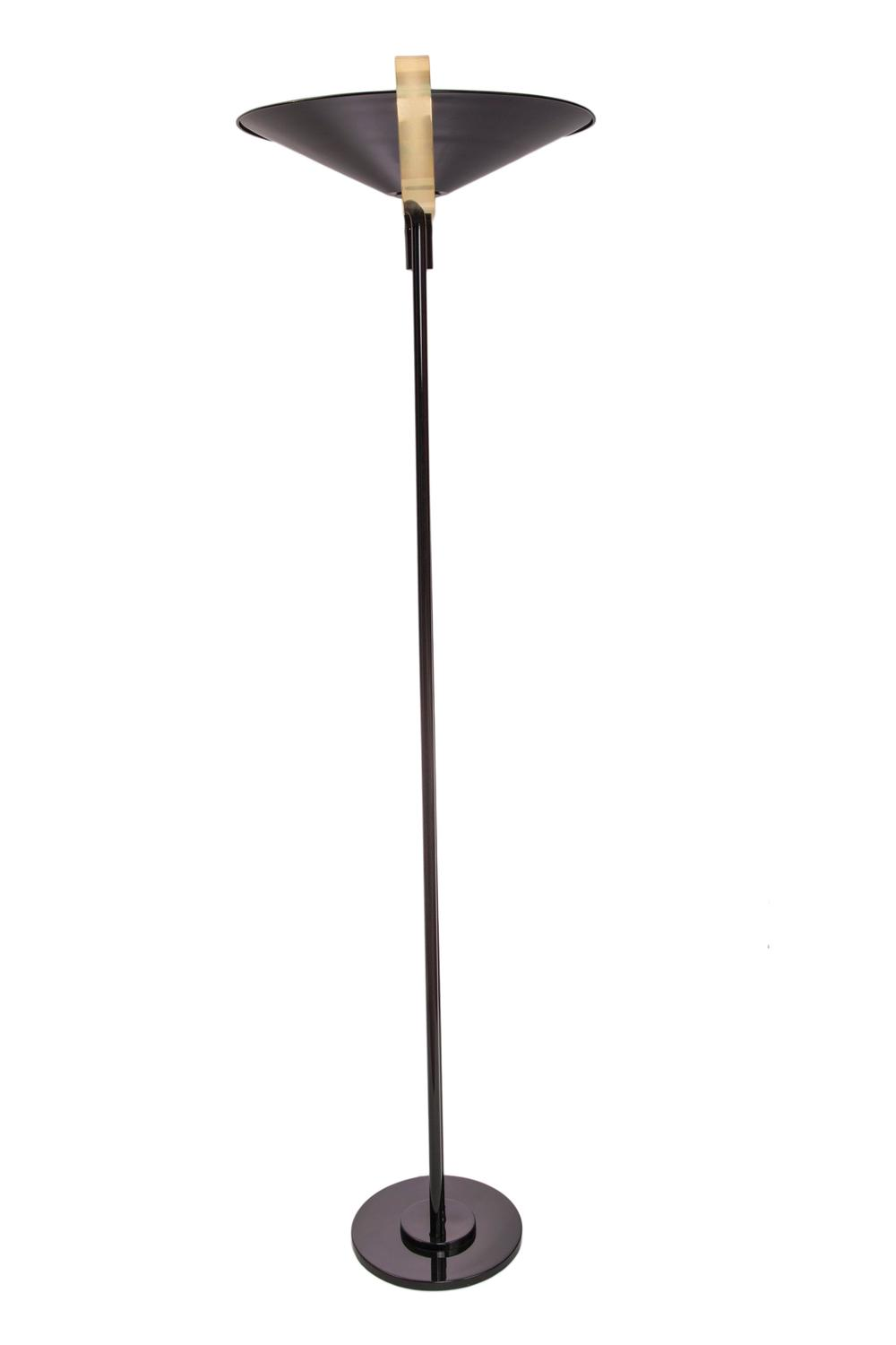 1950s Torchiere Floor Lamp For Sale At 1stdibs