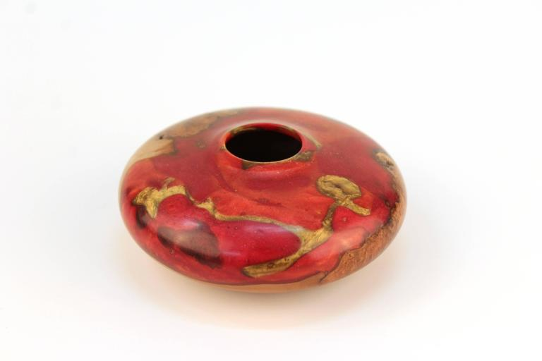 Robert W. Chatelain Small Black Cherry Vessel 3