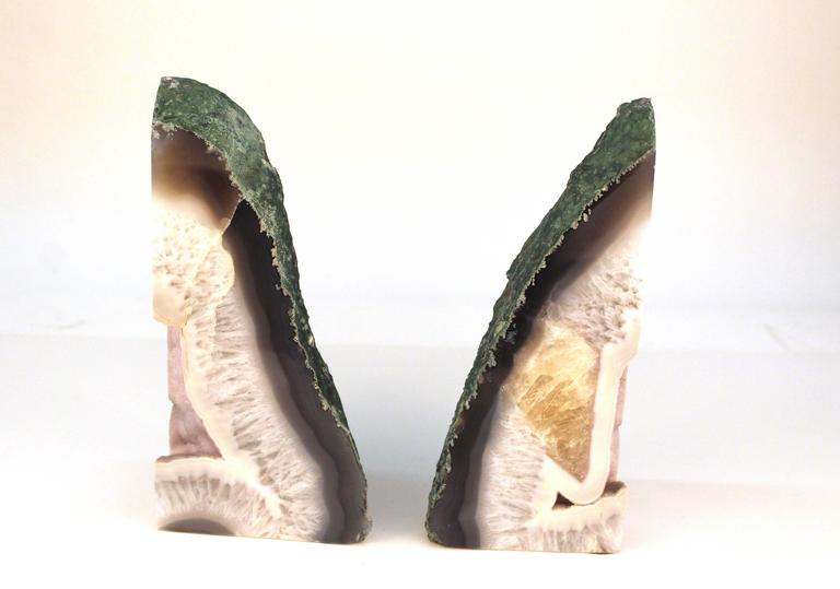 Agate Bookends 2