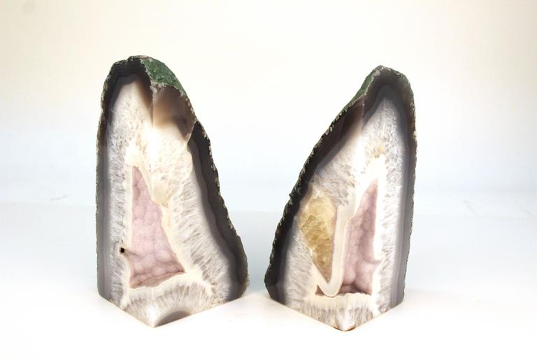 Agate Bookends 3