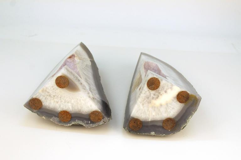 Agate Bookends 7