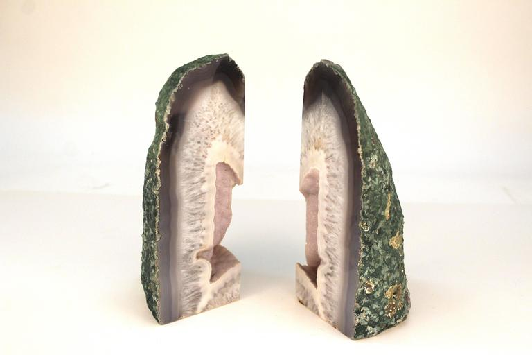 Agate Bookends 5