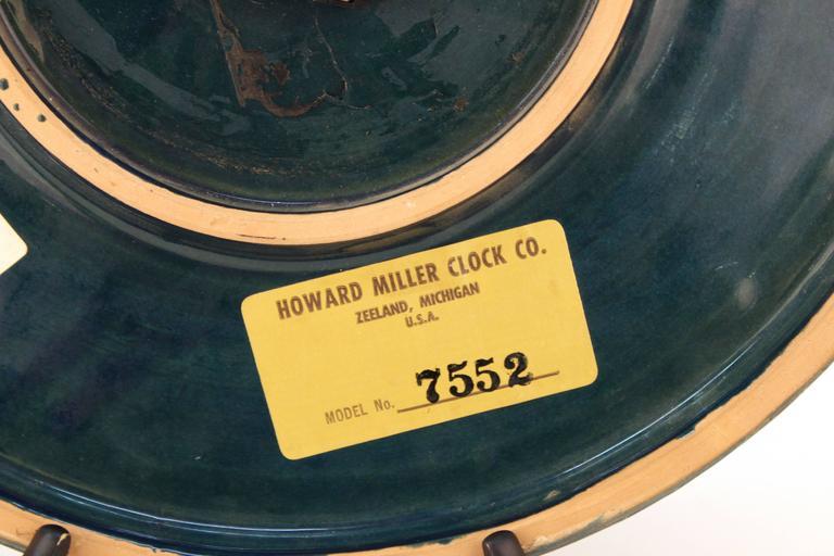 Rimini Blue Ceramic Clock by Bitossi 6