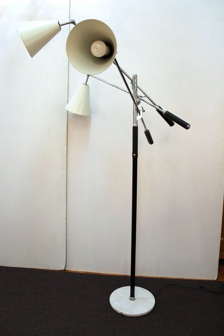 Mid Century Triennale Lamp In The Style Of Angelo Lelli For Arredoluce At 1stdibs