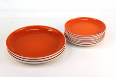 Set of Luncheon Plates by Carlo Moretti