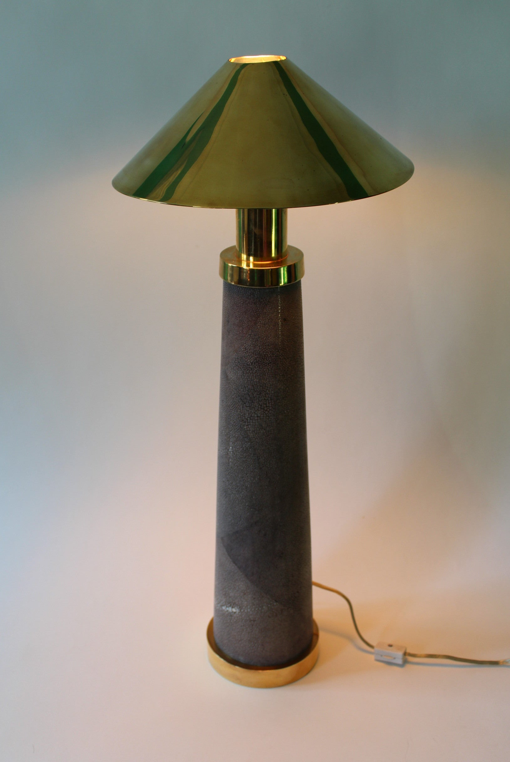 Pair of light house table lamps by karl springer for sale at 1stdibs aloadofball Choice Image