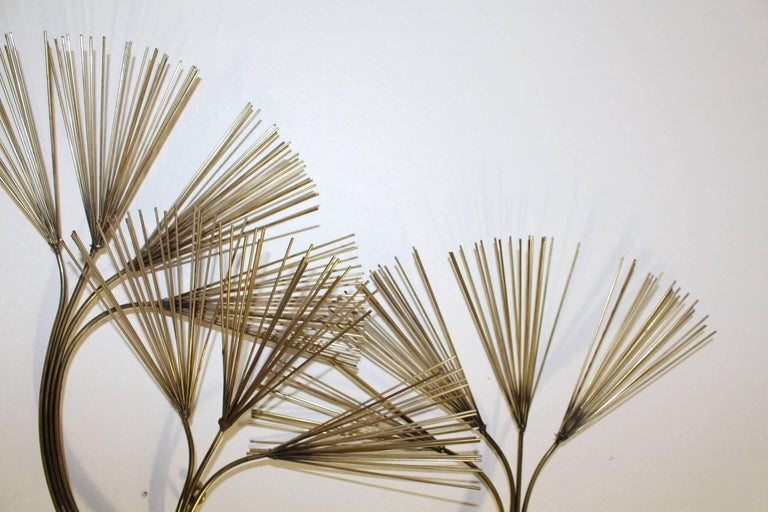 pine tree branch sculpture by c jere for sale at 1stdibs