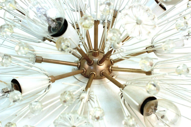 Emil Stejnar Sputnik Flush Mount Chandeliers In Good Condition For Sale In New York, NY