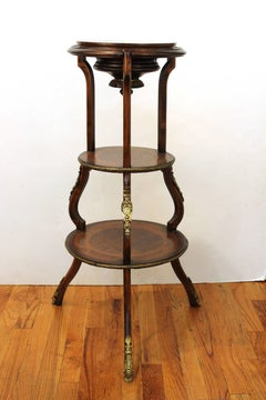 French 19th Century Wood Etagere