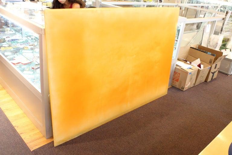 Polymer Resin Art by Tom Burrows Titled Spectre 2 Orange 2