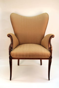 Neoclassical Style Grosfeld House Butterfly Armchairs
