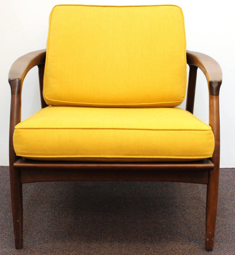 20th Century Milo Baughman for Thayer Coggin Mid-Century Modern Lounge Chairs For Sale