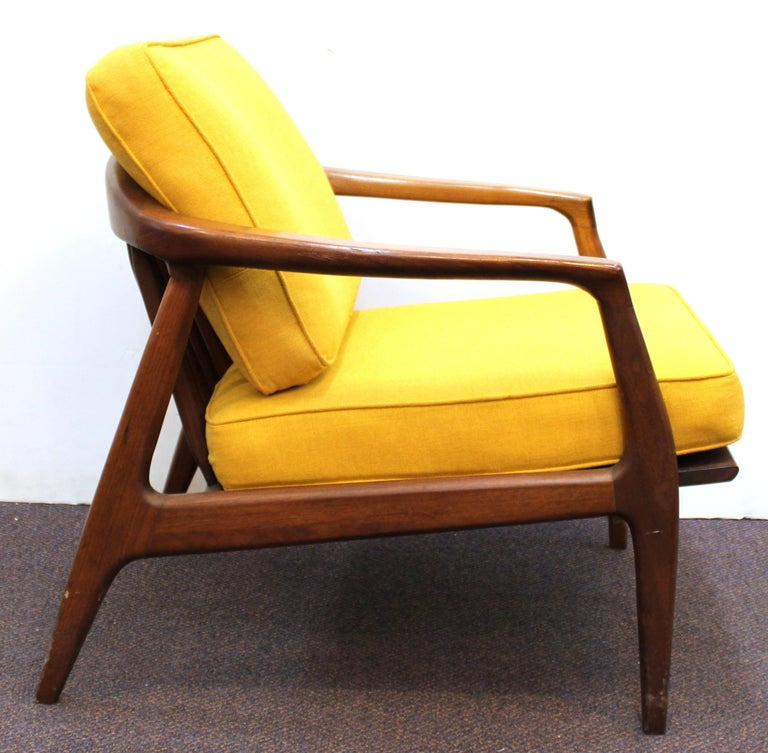 Upholstery Milo Baughman for Thayer Coggin Mid-Century Modern Lounge Chairs For Sale