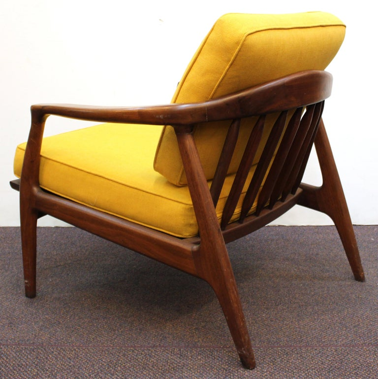 Milo Baughman for Thayer Coggin Mid-Century Modern Lounge Chairs For Sale 2