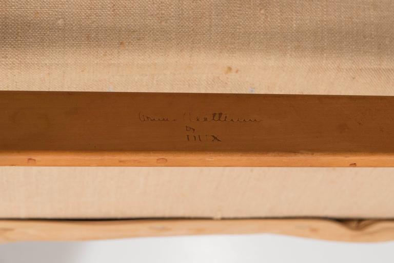 Bruno Mathsson 'Pernilla' Lounge Chair and Ottoman for DUX 10