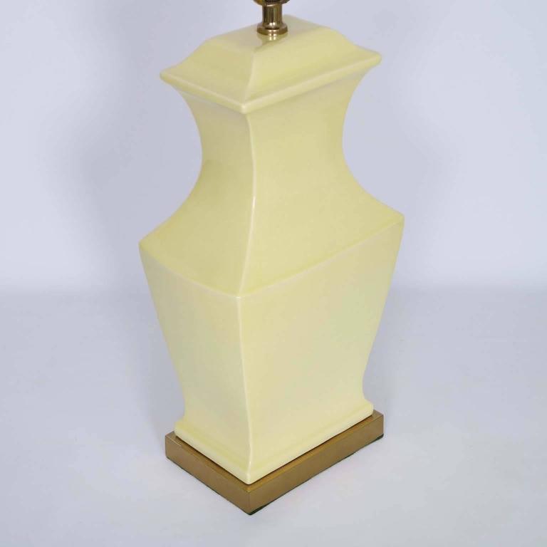 Paul Hanson Ceramic Lamps, Pair 3