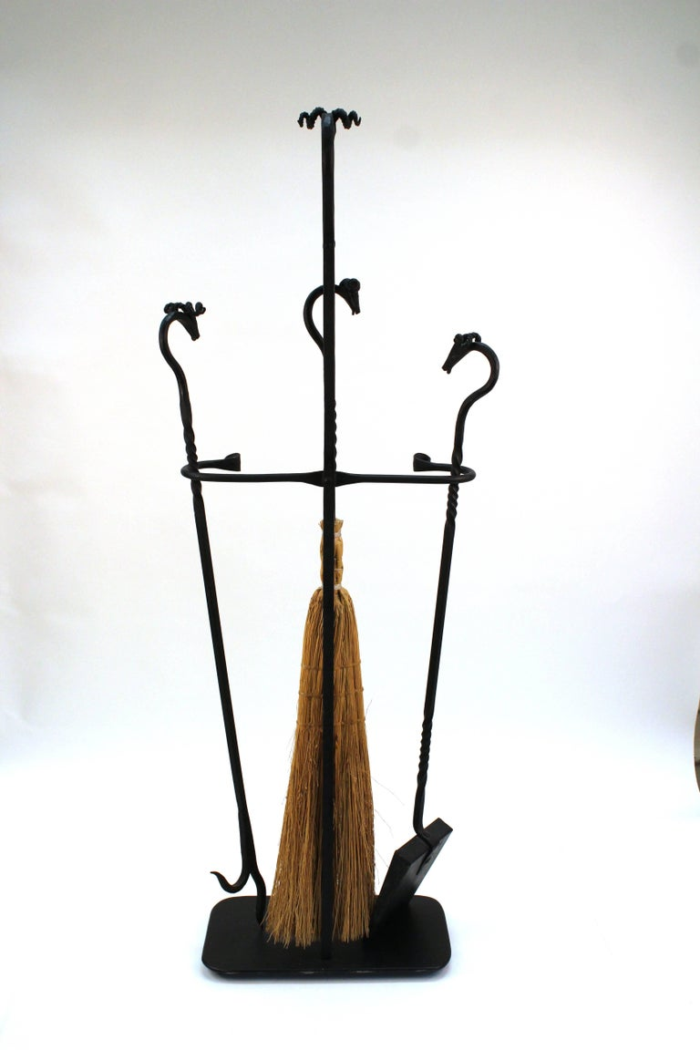Wrought Iron Fireplace Tools For Sale At 1stdibs
