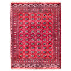 Hand-Knotted Tribal Carpet from Pakistan