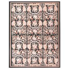 Aubusson Style Hand-Knotted Rug
