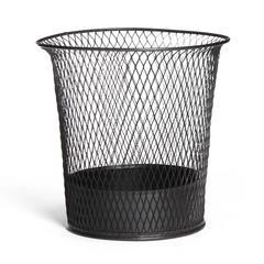 Braided Steel Waste Basket