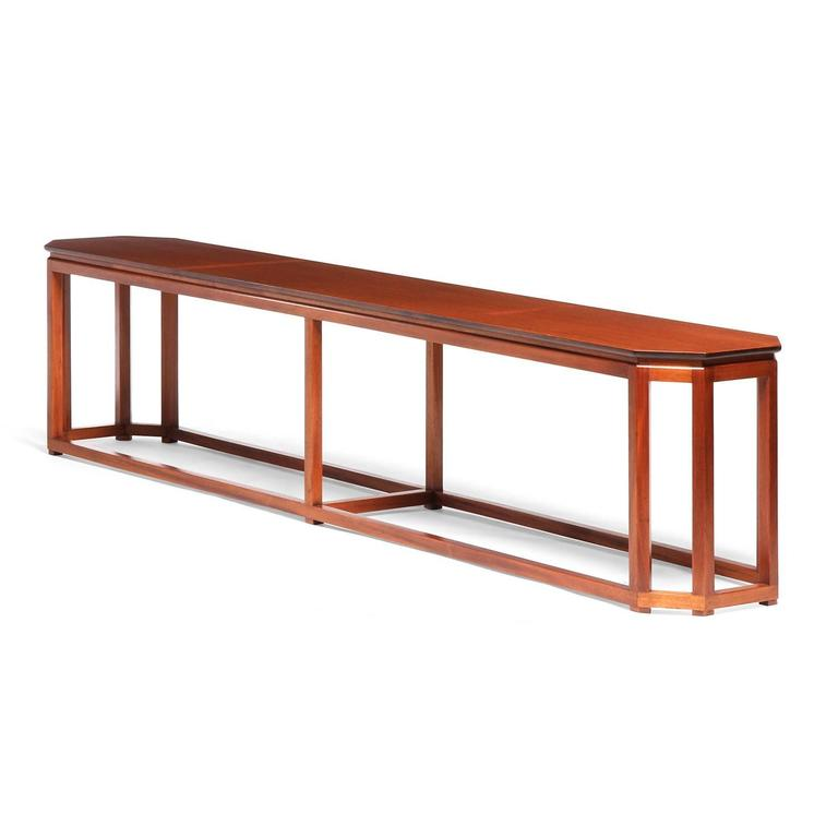 Mid-Century Modern Console by Harvey Probber For Sale