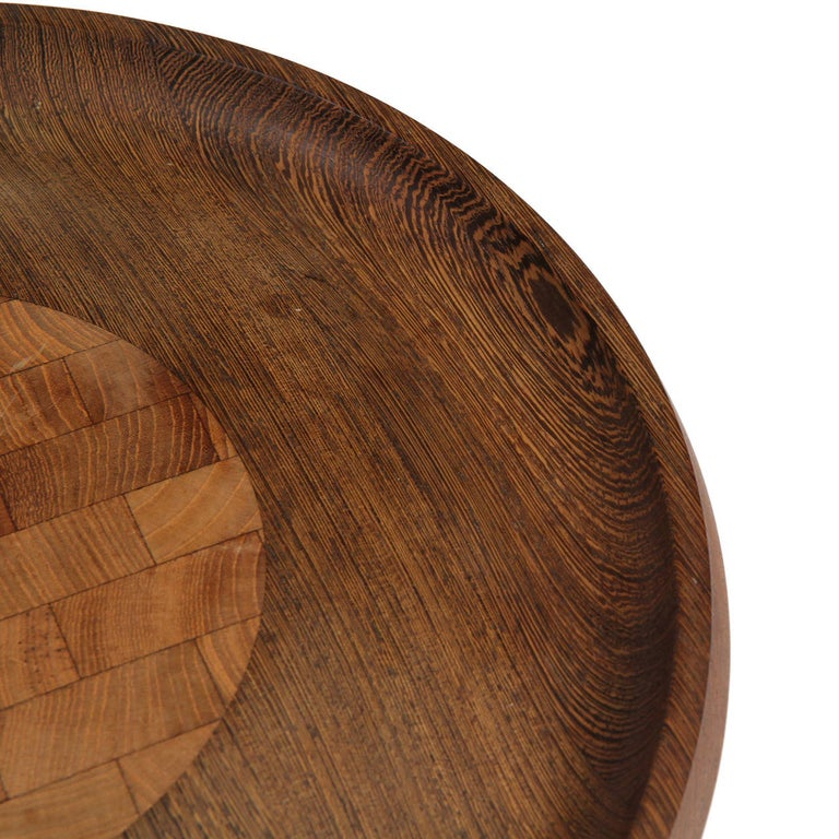 Danish Wenge Cheese Board For Sale
