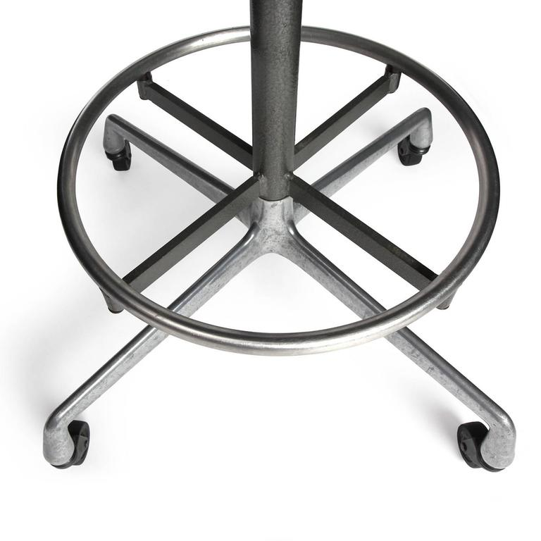 Drafting Stool By Charles And Ray Eames For Sale At 1stdibs