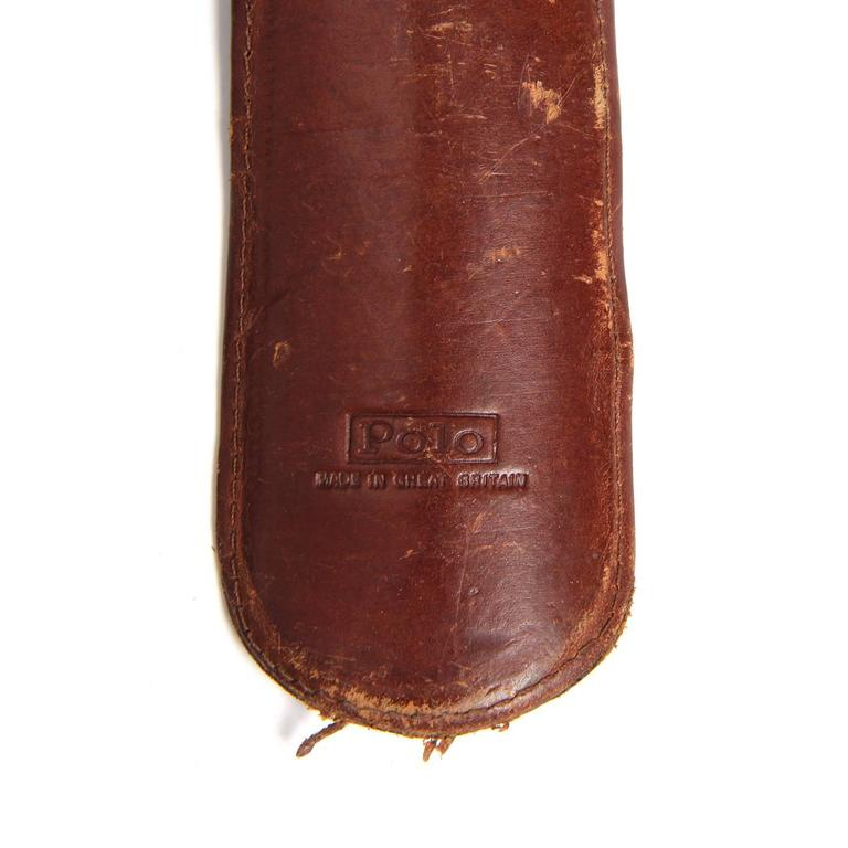 Leather-Wrapped Shoe Horn 5