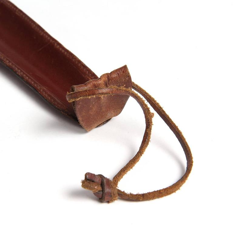 Leather-Wrapped Shoe Horn 4