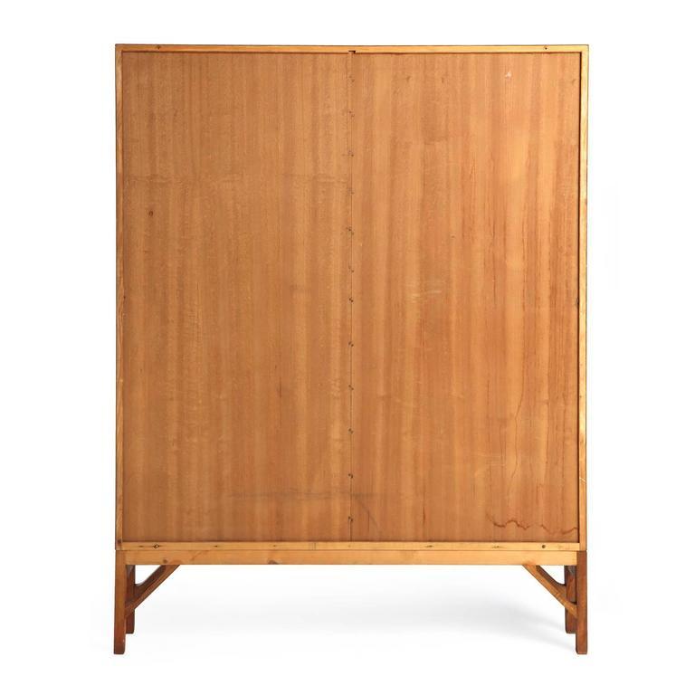Danish Modern Teak Standing Bookcase by Børge Mogensen For Sale 1