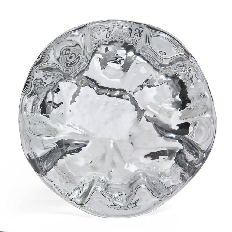 Scandinavian Modern Glass Bowl Tapio Wirkkala For Sale