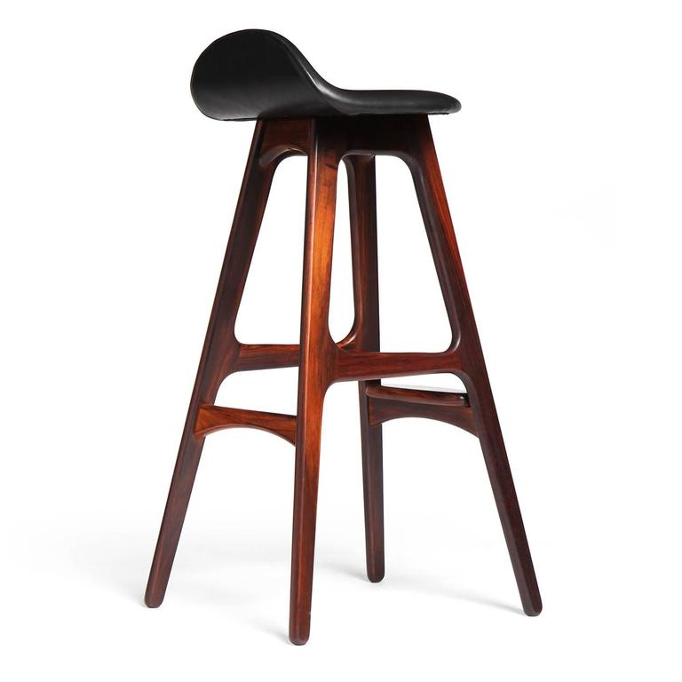 Rosewood Barstool By Erik Buch For Sale At 1stdibs