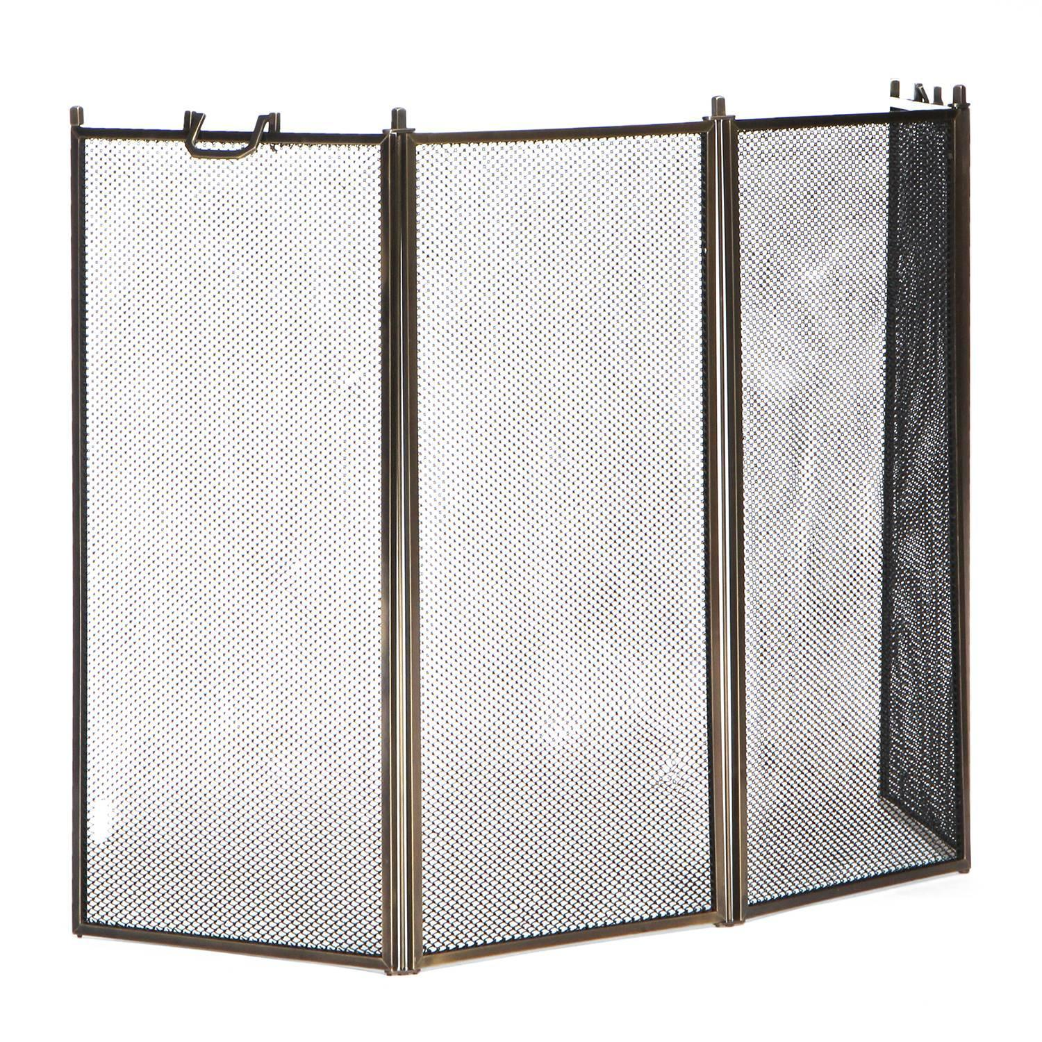 Hinged Fire Screen For Sale At 1stdibs