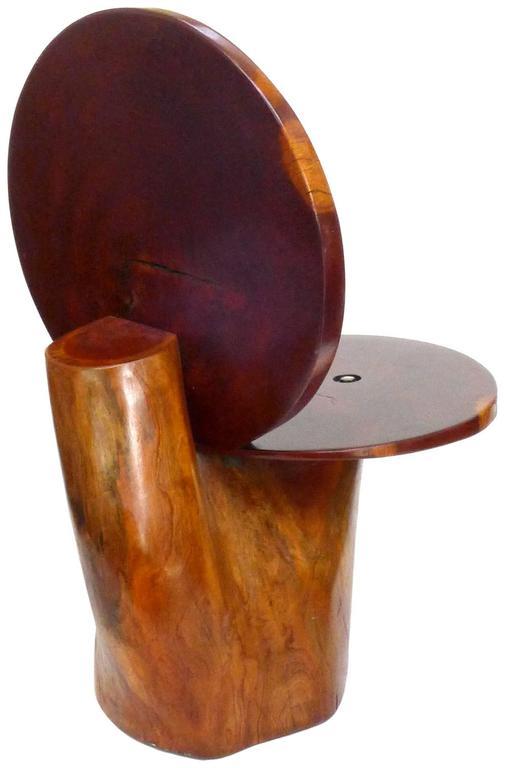 Organic Redwood Side Chair 4