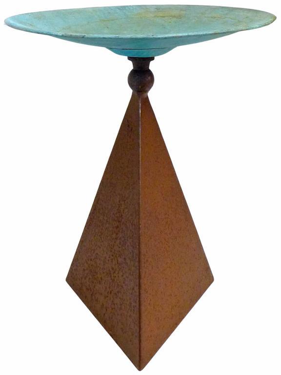 Sculptural Modernist Birdbath 2