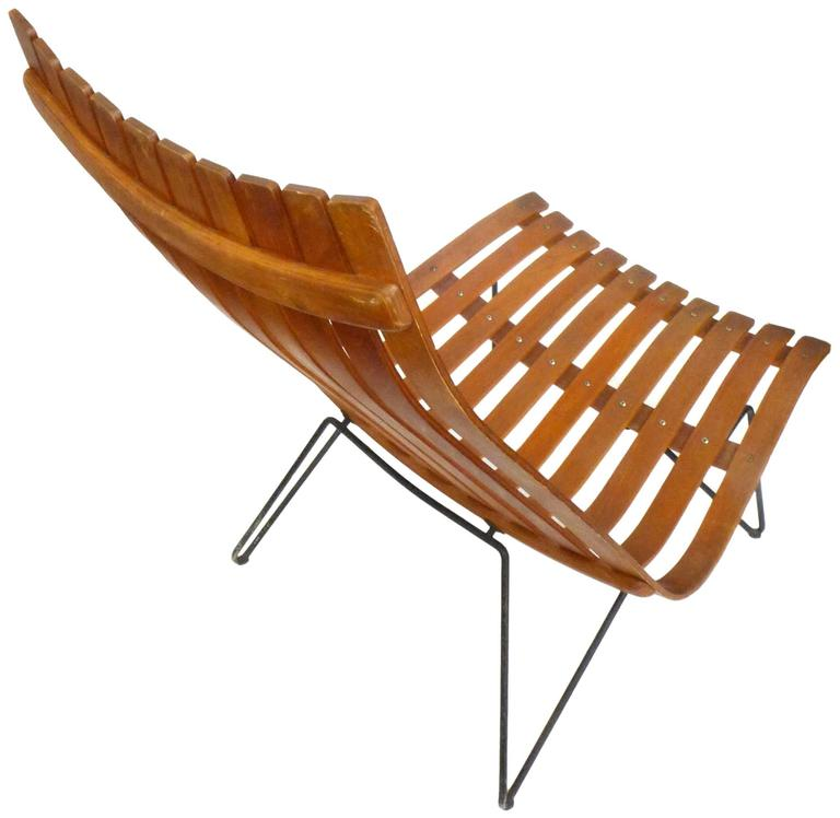 Norwegian Scania Senior Lounge Chair by Hans Brattrud for Hove Möbler For Sale
