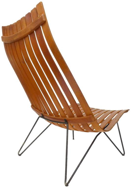 Scania Senior Lounge Chair by Hans Brattrud for Hove Möbler In Good Condition For Sale In Los Angeles, CA