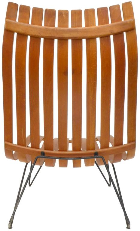 Mid-20th Century Scania Senior Lounge Chair by Hans Brattrud for Hove Möbler For Sale