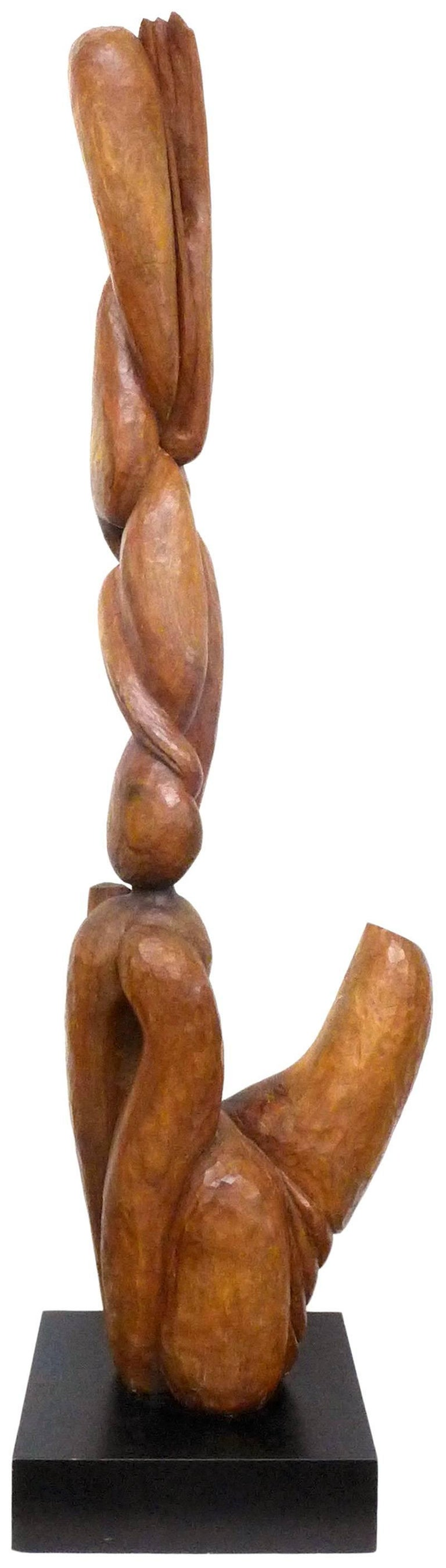 Biomorphic Carved-Wood Sculpture 5