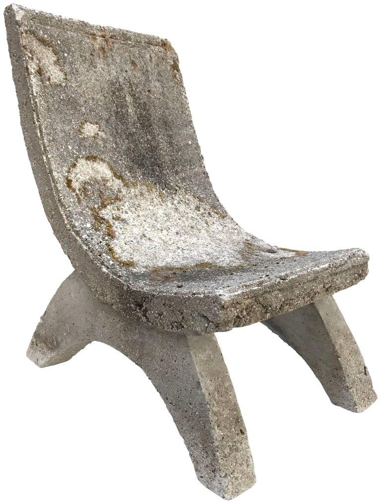 Cast Concrete Garden Chair 2