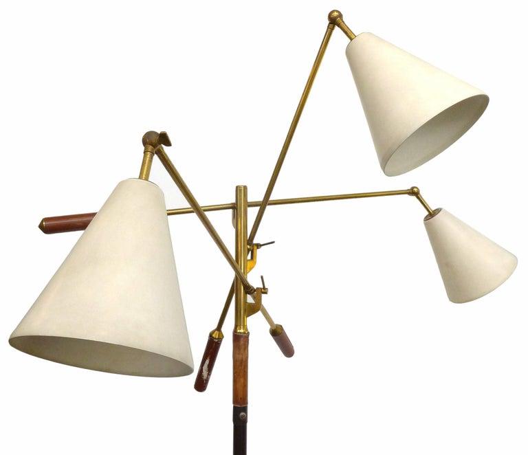 Italian Triennale Floor Lamp by Arredoluce 3