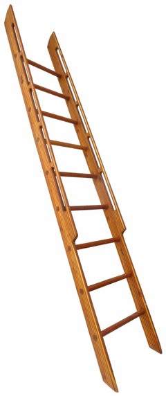 Stack-Laminated Wood Ladder