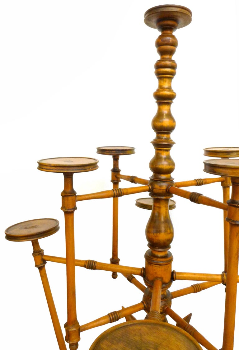Monumental Victorian Plant Stand by George Hunzinger 2