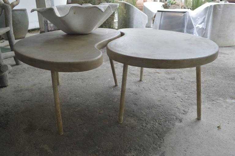 "modern ""ying yang"" coffee table or side table for sale at 1stdibs"