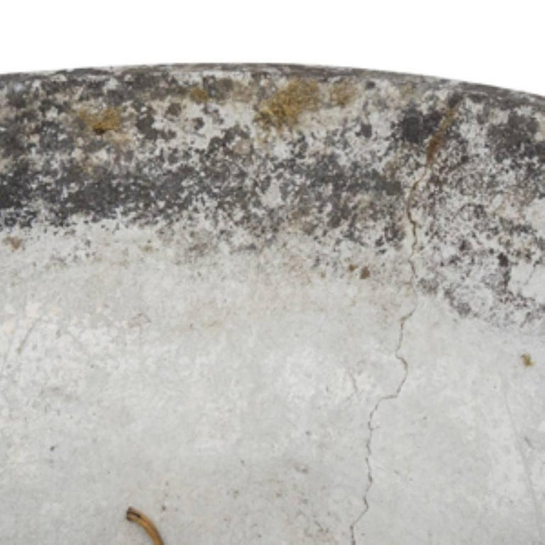 Modern French Conical Fiber Cement Planter, circa 1960 In Good Condition For Sale In Culver City, CA