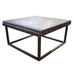 Vintage French Iron Table