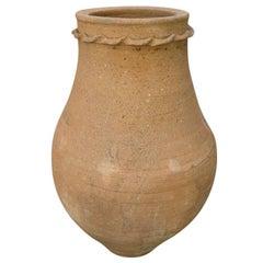 Vintage Terracotta Oil Jar Shaped Planter