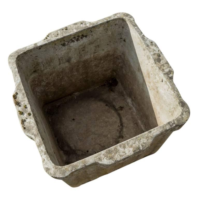 Vintage French Cement Planters, circa 1960 For Sale 1