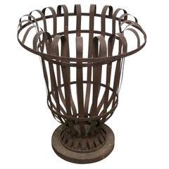 French Iron Tree Pot Holder